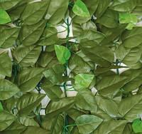 """Декоративное зеленое покрытие """"Молодая листва"""" 100х300 см."""