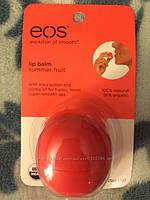 """EOS """"Летние фрукты""""  бальзам для губ"""