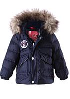 Куртка пуховик для мальчиков Reima Casual 511132- 6980. Размер 74.