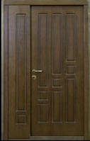 """Входная бронированная полуторная дверь """"Портала"""" (Комфорт) ― модель Геометрика"""