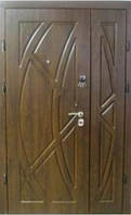 """Входная бронированная полуторная дверь """"Портала"""" (Комфорт) ― модель Магнолия"""