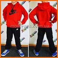 Утепленный детский костюм Nike | Спортивные костюм на флисе