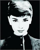 "Картины по номерам на холсте ""Одри Хепберн""  5166"