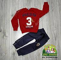 Кофточка Polo для мальчика красная