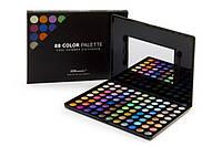 Профессиональная палитра теней 88 холодных оттенков Cool Shimmer BH Cosmetics Оригинал