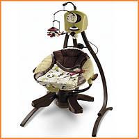 """Кресло качель + шезлонг  Fisher Price """"Гармония"""" Zen Collection 2-в-1"""
