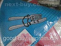 Комплект круглых полотенец   3 шт. радиус 50 100%  cotton вафелька кухня  Турция   pr-119