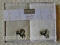 Комплект полотенец Cestepe бамбук кухня 2шт 50х30 Tурция   pr-110