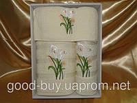 Комплект полотенец Yagmur полотенце в киеве, оптовые и розничные цены на  махра - салфетка + лицо +