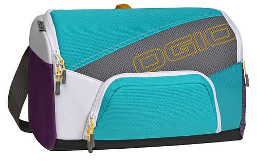 Прочная компактная спортивная сумка 15 л. OGIO Quickdraw, 112041.377 Purple/Teal
