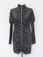 Платье №113 черное р.42-46 красиво платье scarbnichka.com.ua