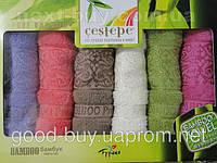 """Мягкие бамбуковые полотенеца для кухни Cestepe  """"Pure bamboo""""  6шт: 30x50 Tурция"""