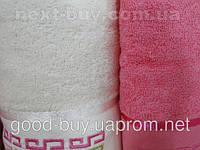 Комплект полотенец Pure Bath Collection махра - 2 лицо + баня Турция e36 -1