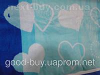 Комплект полотенец Ozdilek велюр - махра лицо 6шт 50х90 Турция  t41 -1