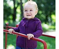 Яркая кофточка для маленькой модницы р 74,80 см цвет фиолетовый