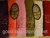 Комплект полотенец для лица (для бани, для сауны) Philippus Salsa 100 % Gold cotton  махра 6шт Турция