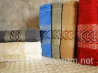 Комплект полотенец для лица (для бани, для сауны) DNZ Gulcan 6 100% cotton Paul махра 6шт Турция