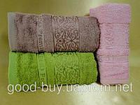 Бамбуковые кухонные полотенца в наборе Cestepe 3шт: 40х60  Турция