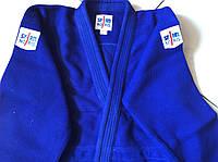 Кимоно для дзюдо NORIS х/б (синее) на рост от 150, 160, 190 см. плотность 800г.на м2
