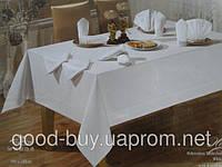 "Скатерть  TABE  Exclusise tablecloth  ""Honey"" белый pr-s17"