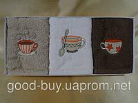 "Набор кухонных полотенец из хлопка Mercan ""Cofee Splah""  Турция"