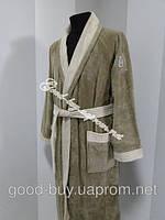 Бамбуковый мужской халат с воротником Ramel Турция