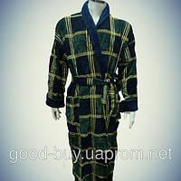 Мужской халат с воротником - хлопок - Турция   pr-hm526