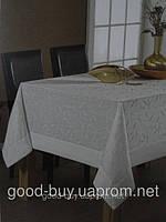Скатерть Tropik   бамбук -  белая 160x230   pr-s89