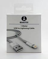 Кабель для зарядки и синхронизации USB - Lightning cable for Apple (iPhone 5, iPad 4/Mini) Qualitex