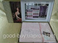 Комплект полотенец SIKEL  Bamboo Lady  с камнями  лицо+баня Турция   pr-v136
