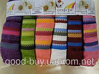 Комплект полотенец для лица Cestepe  VIP  cotton 6шт: 50х90 Турция pr-h36