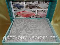 Бамбуковая махровая простынь - покрывало Турция - Cestepe  200x220   pr-p29
