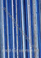 Шторы - нити разноцветные радуга с квадратным стеклярусом ods-77051