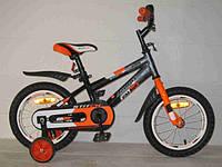 Азимут Стич детский двухколесный велосипед Azimut Stitch 18 дюймов