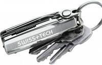Многофункциональный мультититул-брелок Swiss+Tech 10606ES серебристый