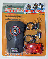 Комплект фонарей велосипедных, для детских колясок, туризма Kaikuo KK-806