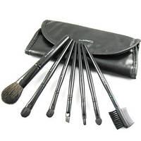 Кисти для макияжа МАС 7 шт + чехол в ПОДАРОК Набор кистей для макияжа