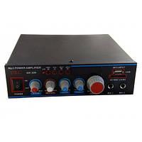 Усилитель UKC OK-309 + караоке , усилители звука