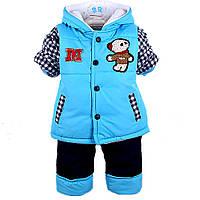 Яркая  куртка со штанами для мальчика