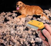 Щетка для вычесывания собак и кошек - Фурминатор средний