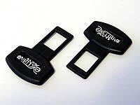Заглушки ремня безопасности Exlusive Avto. Фиксатор замка ремня безопасности пластиковый