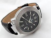 Механические часы РЕКОРД classic, механика с автозаводом, цвет корпуса серебристый, 17 камней