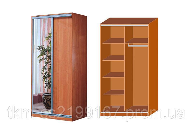 Шкафы-купе, угловые шкафы, библиотеки - стандартные и на зак.