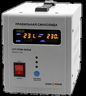 Источник бесперебойного питания Logicfox LPY-PSW-500VA с правильной синусоидой