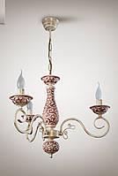 Люстра классическая со свечами в небольшую комнату