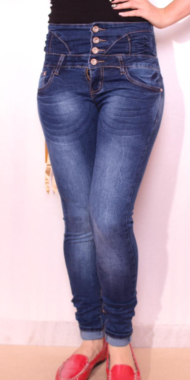 Корсет с джинсами