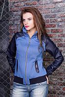 5-Толстовка-куртка с кожаными рукавами, джинс, цвета, размеры s, m, l, xl, Новинка сезона, разные цвета!
