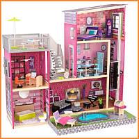 Дом для кукол KidKraft Luxury Особняк Люкс кукольный дом с мебелью 65833