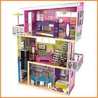 Дом для кукол KidKraft My Modern Модерн кукольный домик с мебелью 65382