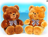 Мягкая музыкальная игрушка Lava Кукла Медведь коричневый средний 31,5 см